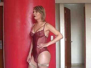 Transexual mexicana caliente se goza una verga