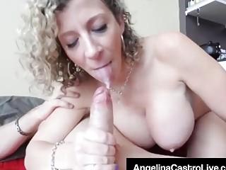 Angelina Castro y Sara Jay comparten una verga